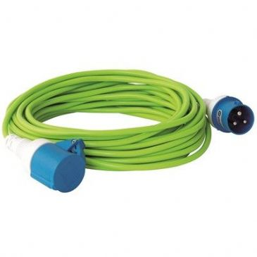 Outwell Mains Lead 15m Camping, Caravan & Motorhome Electrical Hook Up Cable